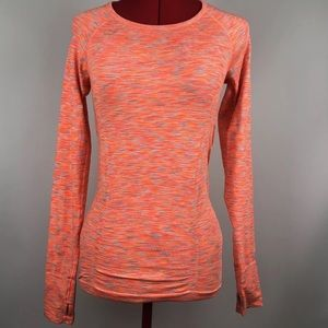 ATHLETA  Long Sleeve Athletic Yoga Running Shirt
